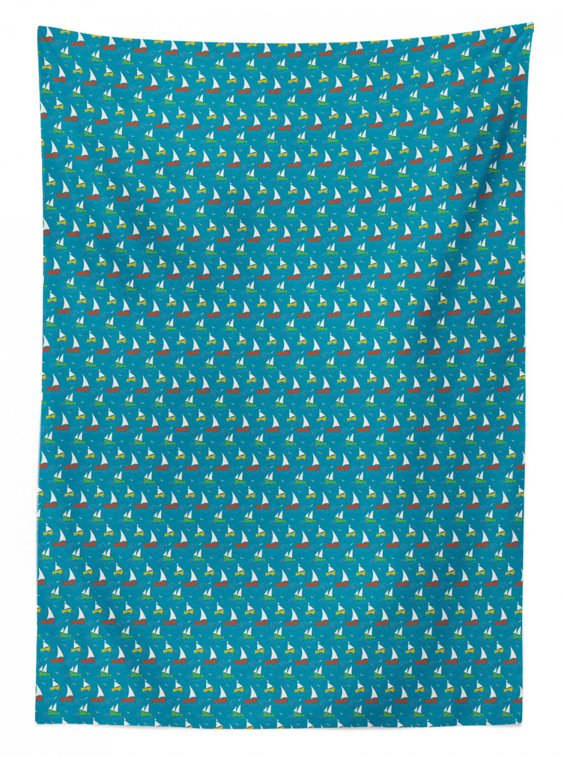thumbnail 17 - Ambesonne Marine Pattern Tablecloth Table Cover for Dining Room Kitchen