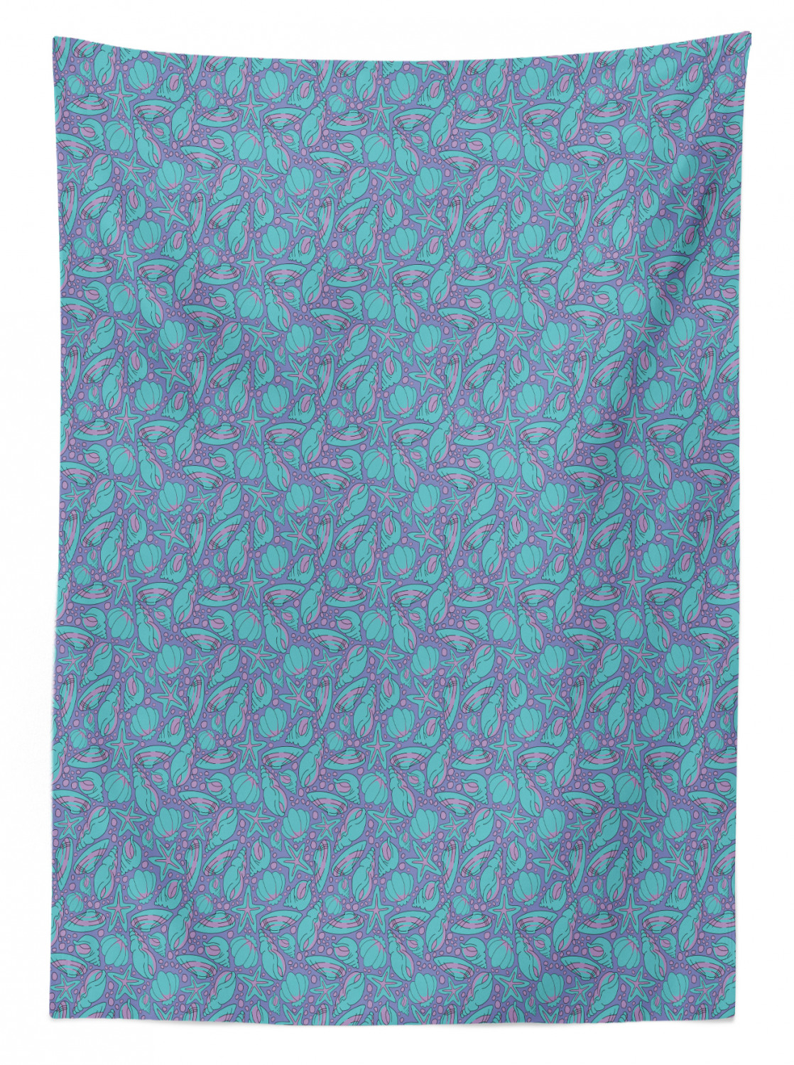 thumbnail 5 - Ambesonne Marine Pattern Tablecloth Table Cover for Dining Room Kitchen