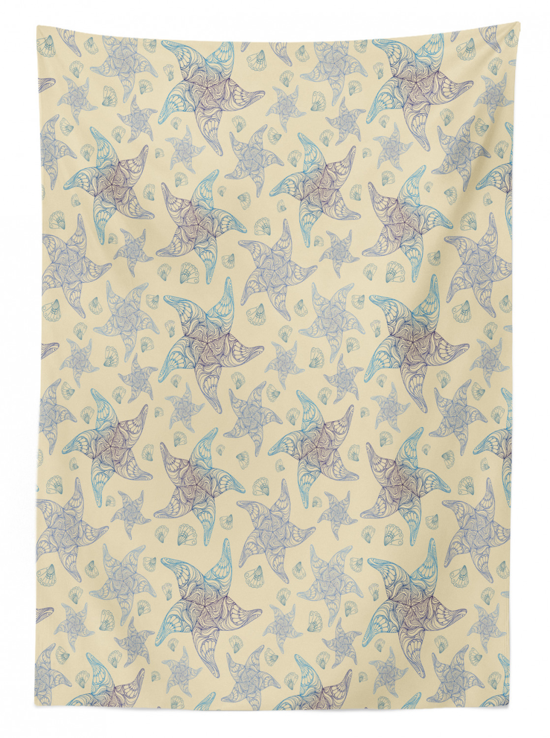 thumbnail 53 - Ambesonne Marine Pattern Tablecloth Table Cover for Dining Room Kitchen