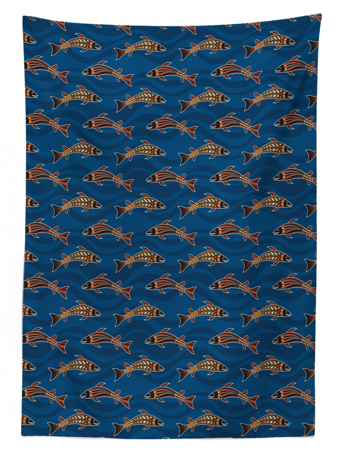 thumbnail 56 - Ambesonne Marine Pattern Tablecloth Table Cover for Dining Room Kitchen