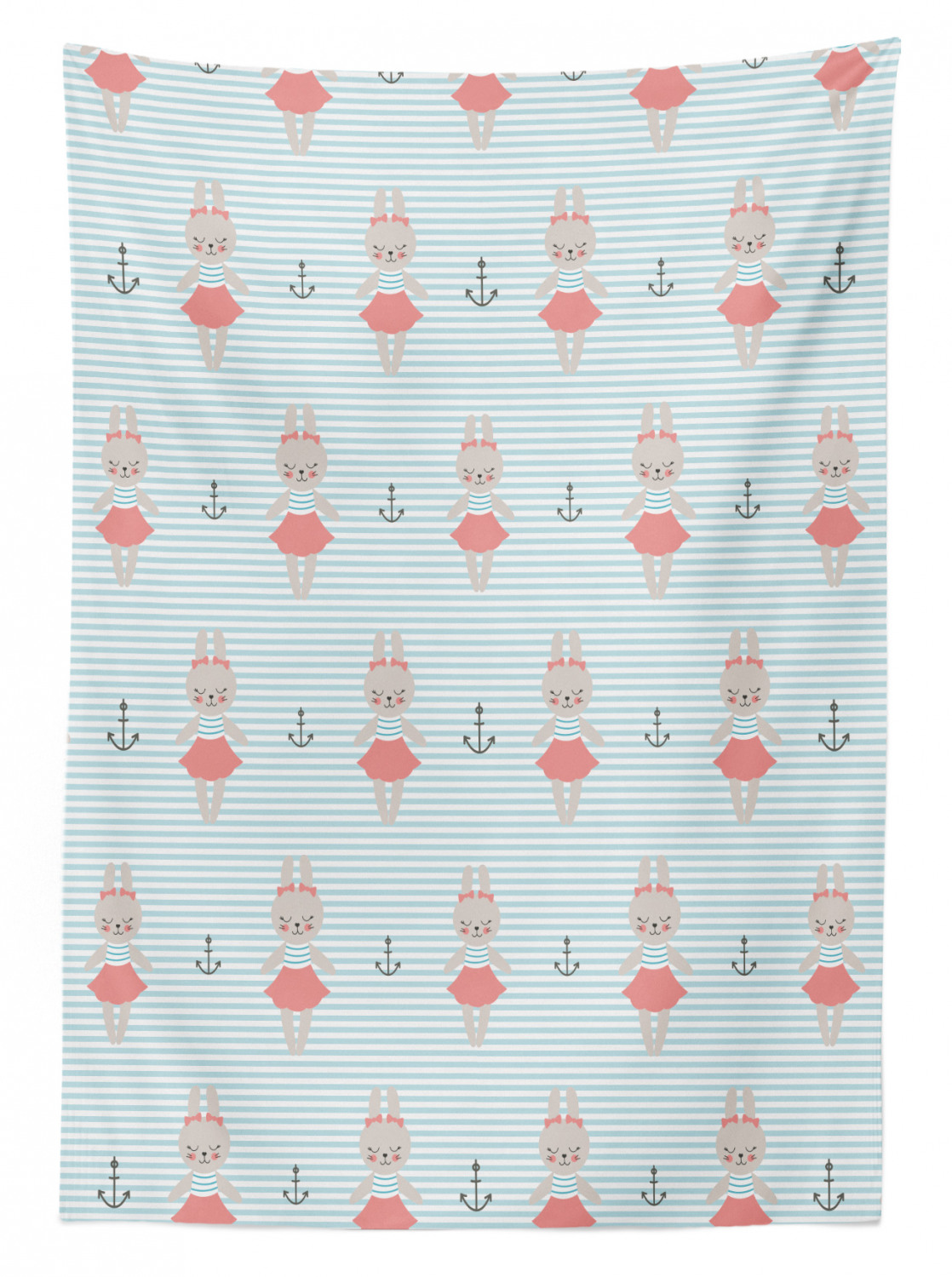 thumbnail 11 - Ambesonne Marine Pattern Tablecloth Table Cover for Dining Room Kitchen