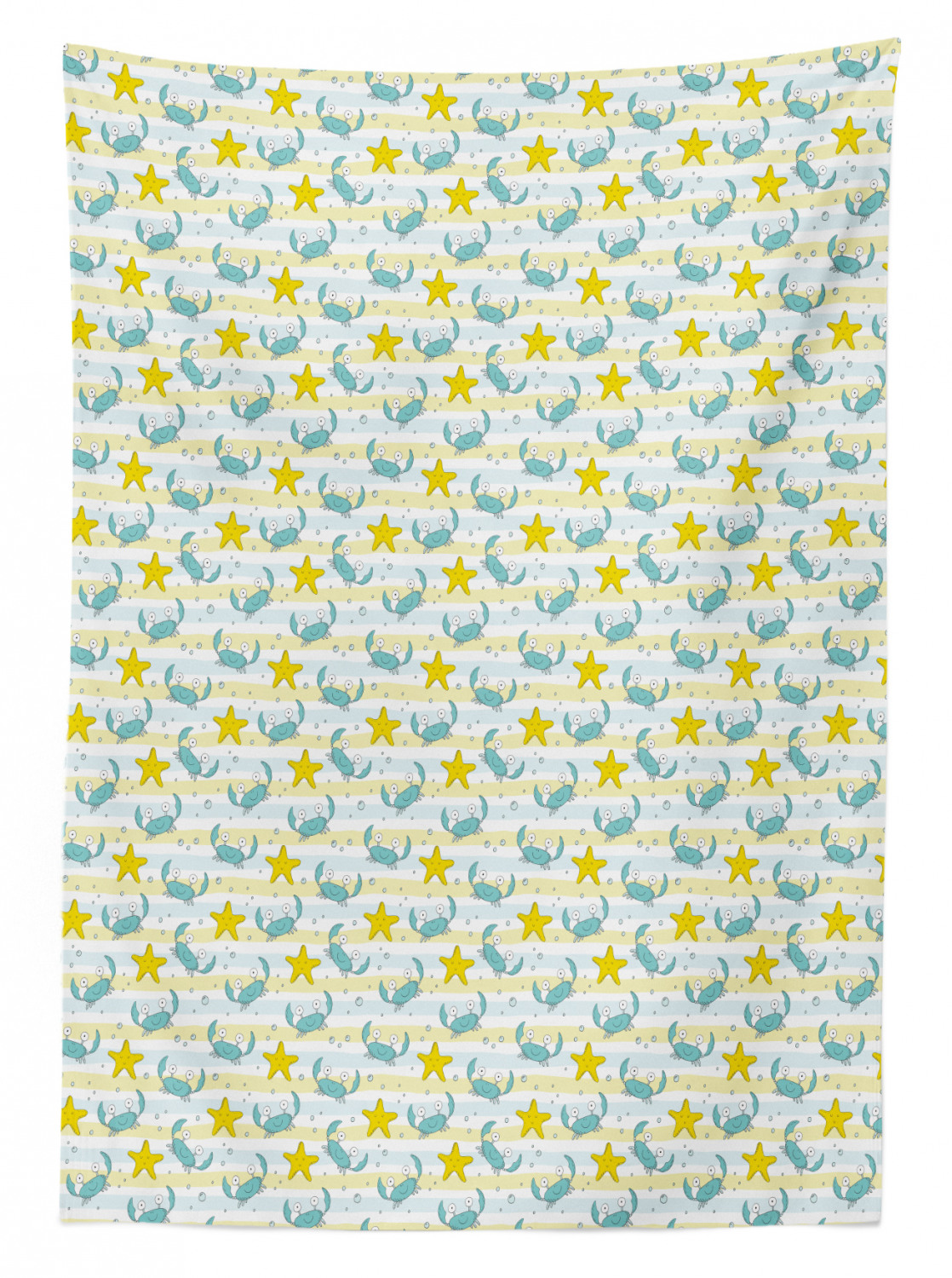 thumbnail 29 - Ambesonne Marine Pattern Tablecloth Table Cover for Dining Room Kitchen