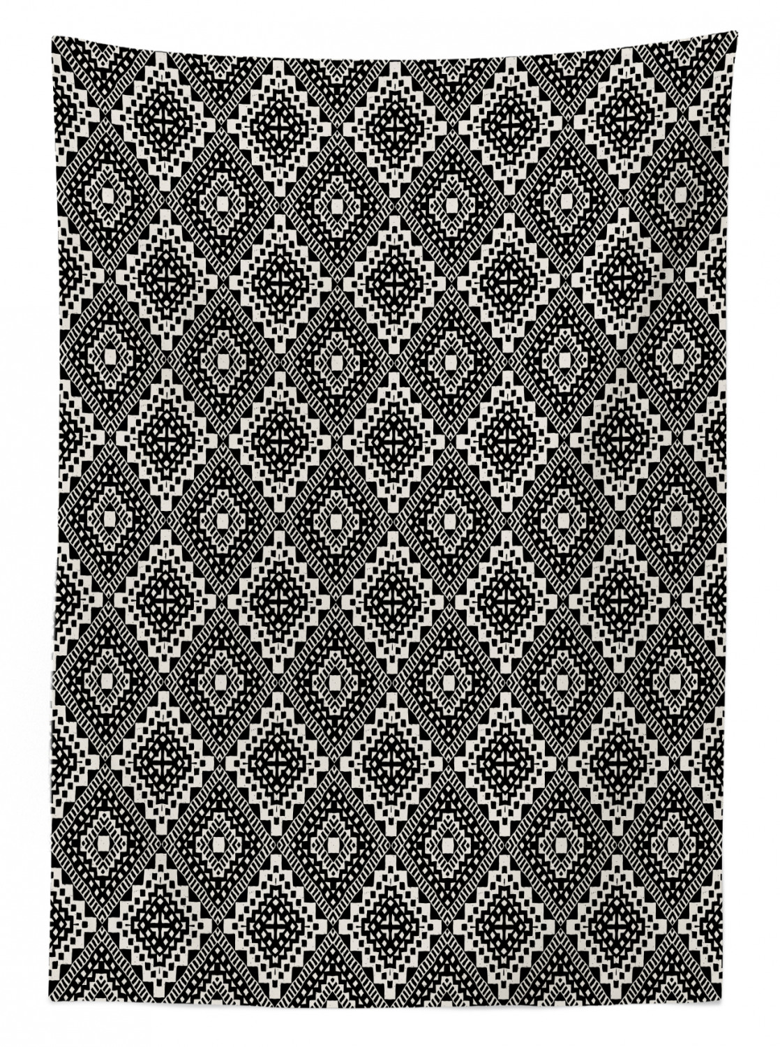 Black And White Tablecloth Ambesonne 3 Sizes Rectangular Table Cover