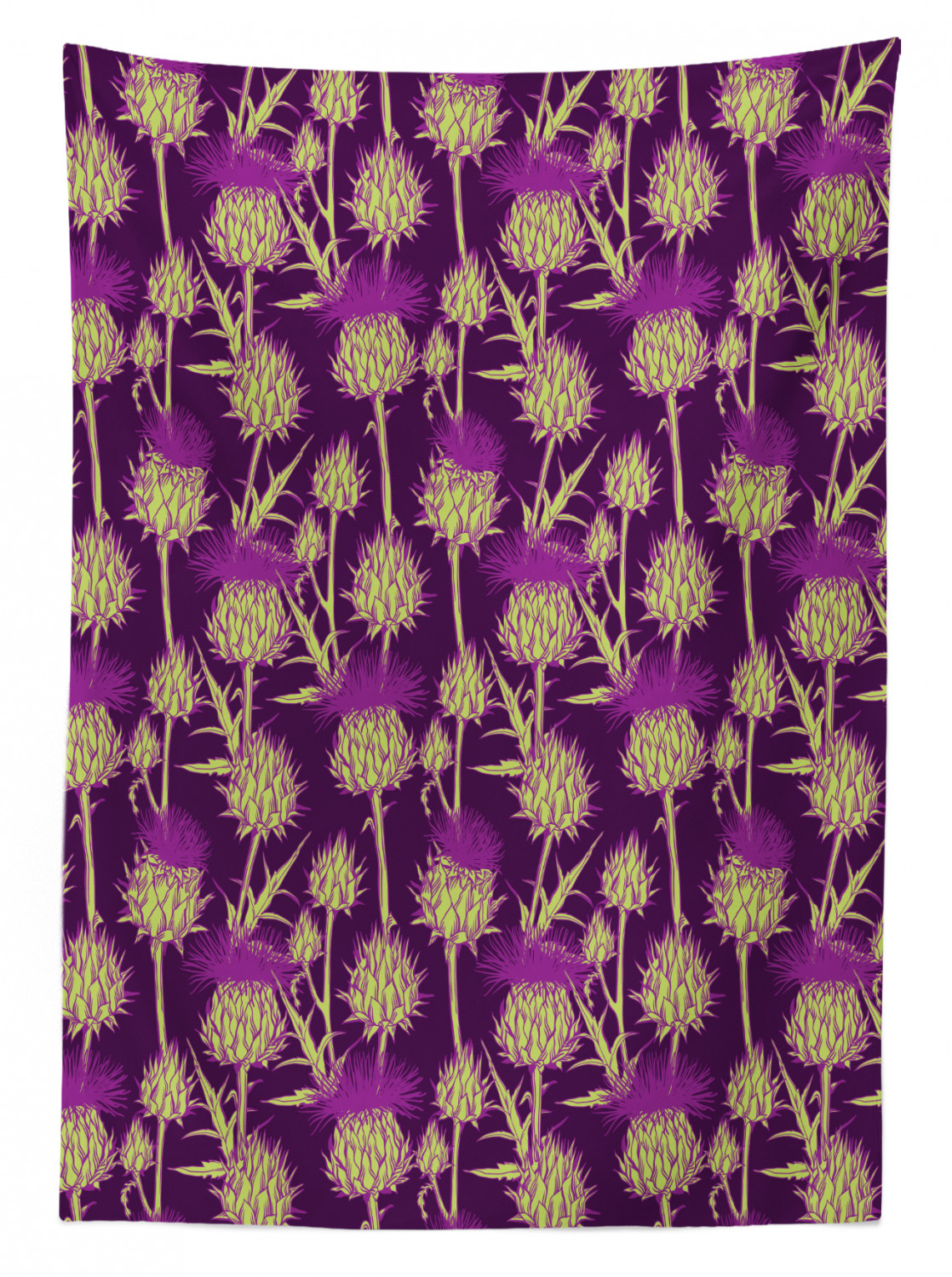 3 Home Decor Trends For Spring Brittany Stager: Thistle Tablecloth Ambesonne 3 Sizes Rectangular Table
