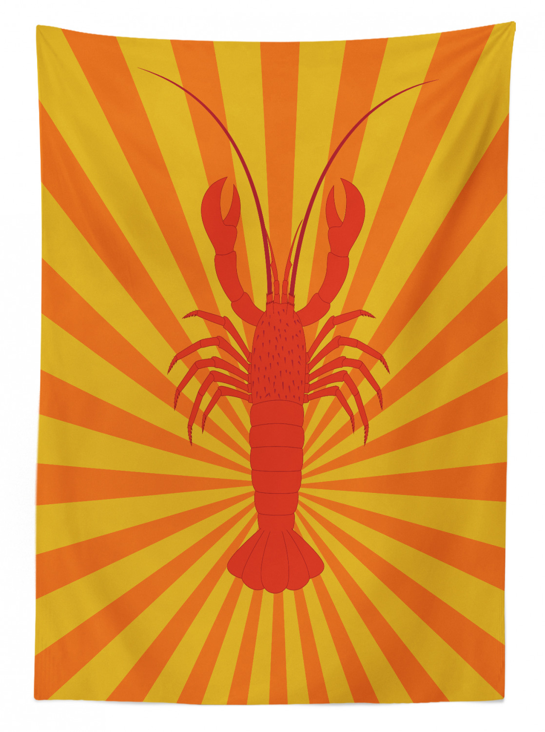 Lobster-Outdoor-Picnic-Tablecloth-in-3-Sizes-Washable-Waterproof thumbnail 12