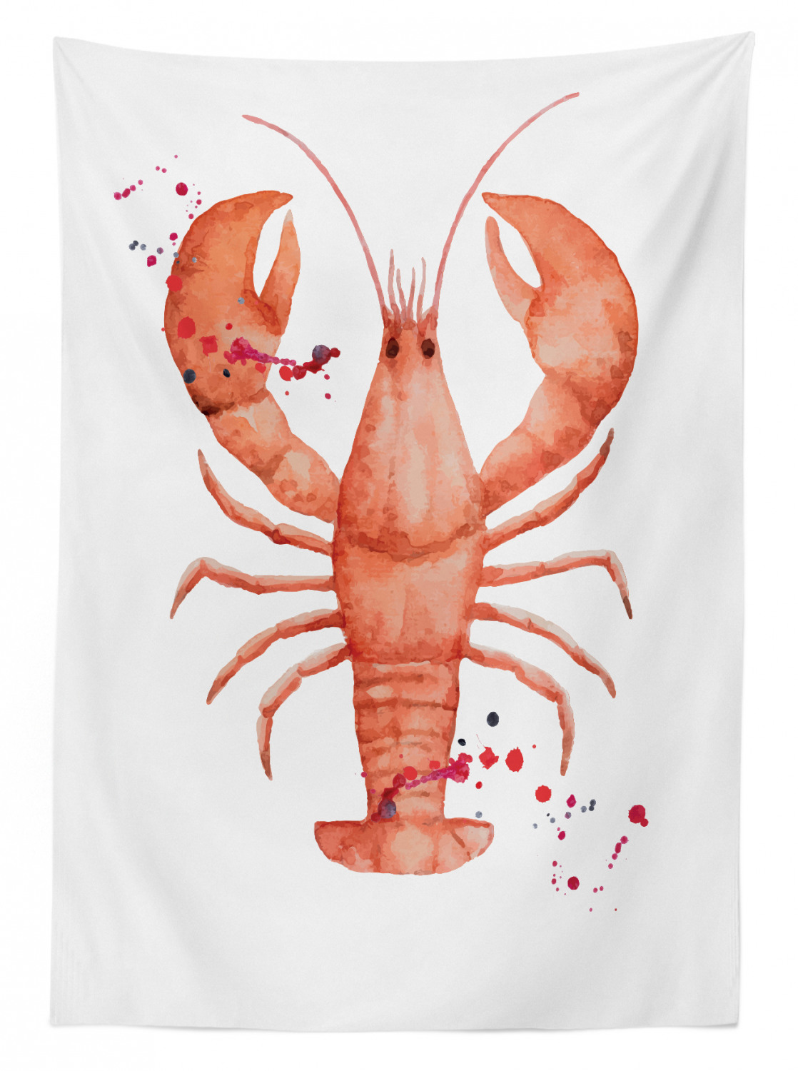 Lobster-Outdoor-Picnic-Tablecloth-in-3-Sizes-Washable-Waterproof thumbnail 18
