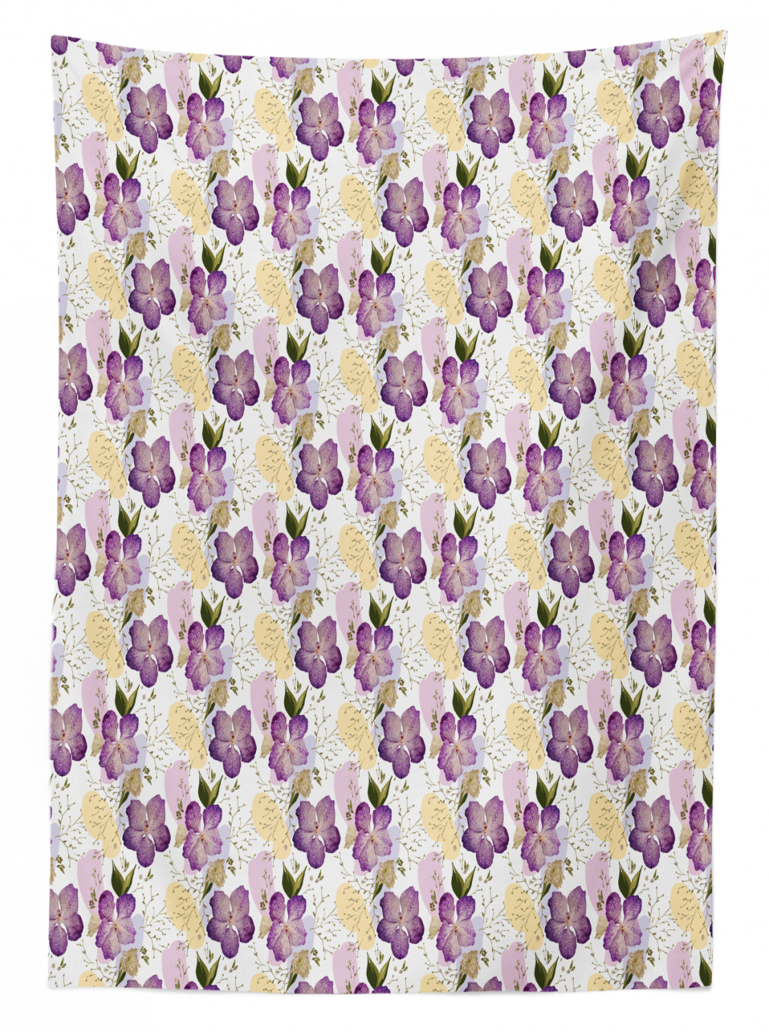 Garden Art Outdoor Picnic Tablecloth in 3 Sizes Washable Waterproof