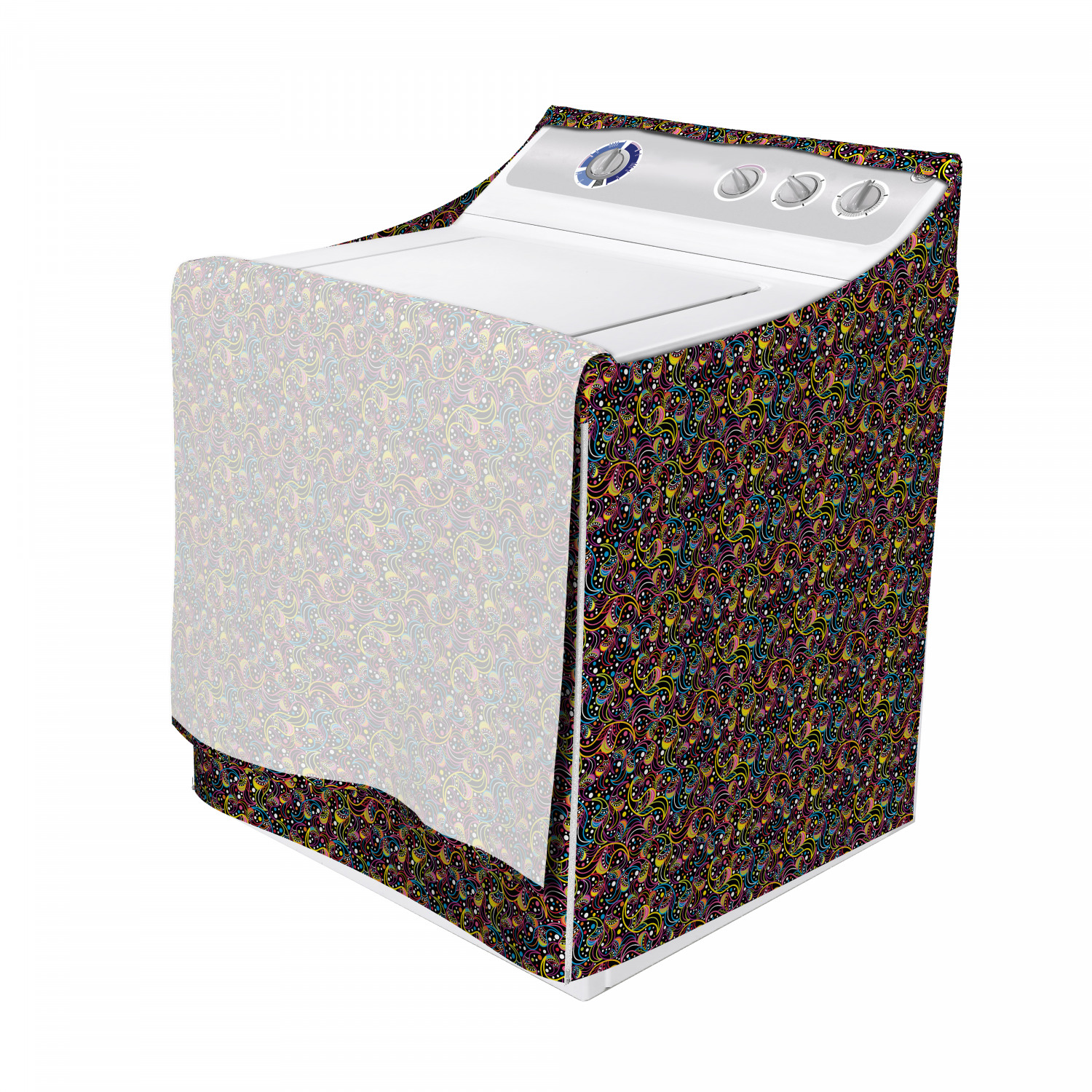 Ambesonne Abstract Motif Washing Machine Cover Laundromat Decorative Accent Ebay