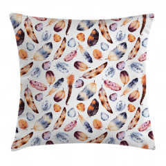 Peacock Feathers Kitsch Pillow Cover