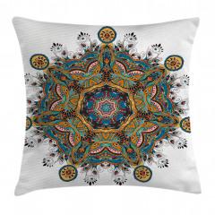 Tribal Paisley Boho Art Pillow Cover