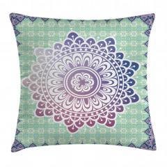 Floral Petal Form Nature Pillow Cover