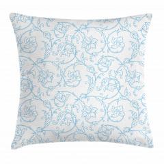 Bohemian Vintage Orchids Pillow Cover