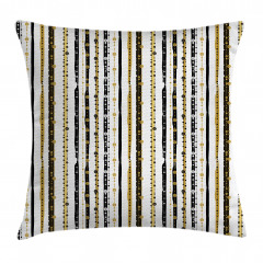 Vertical Lines Rounds Pillow Cover