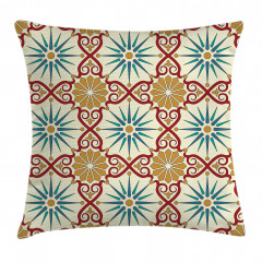 Sacred Geometric Forms Pillow Cover