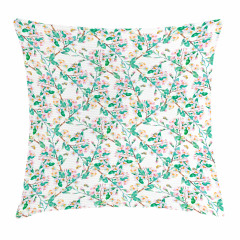 Japanese Spring Blossoms Pillow Cover