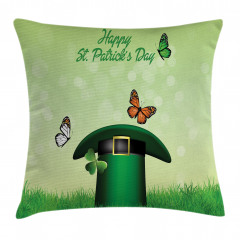 Irish Hat Charm Pillow Cover