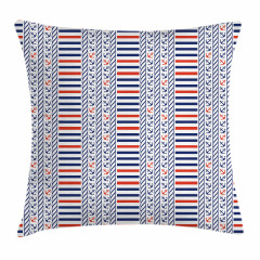 Marine Pattern Stripes Pillow Cover