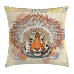Africa Safari Wild Tiger Pillow Cover