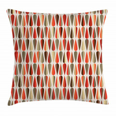 70s Retro Style Pillow Cover
