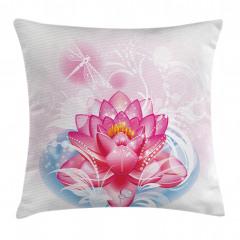 Mandala Yoga Lotus Pillow Cover