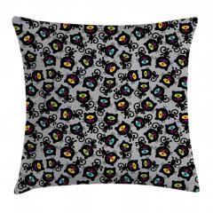 Spiritual Kitten Pet Animal Pillow Cover