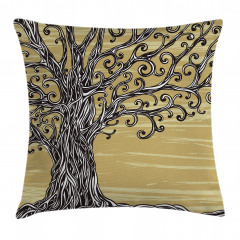 Nature Eco Sketchy Pillow Cover