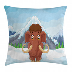 Baby Ice Snowy Mountain Pillow Cover
