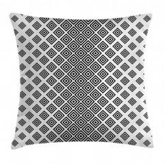 Square Shape Geometric Pillow Cover