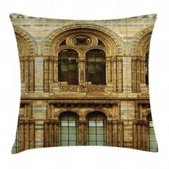 European City Building Pillow Cover
