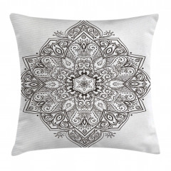 Eastern Psychedelic Pillow Cover