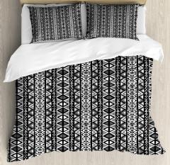 Ethnic Boho Aztec Style Duvet Cover Set