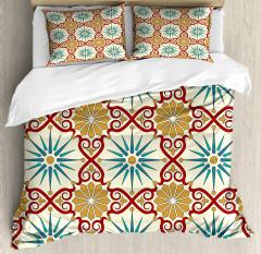 Sacred Geometric Forms Duvet Cover Set