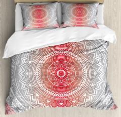 Ombre Mandala Boho Duvet Cover Set