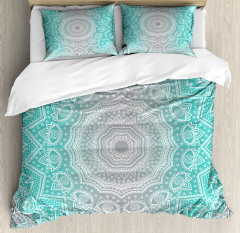Ombre Ethnic Duvet Cover Set