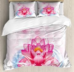 Mandala Yoga Lotus Duvet Cover Set