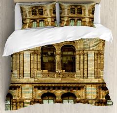 European City Building Duvet Cover Set