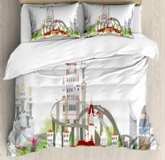 Mega City Urban Scenery Duvet Cover Set