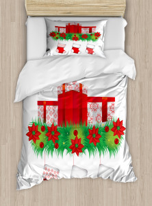 Hanging Stockings Duvet Cover Set