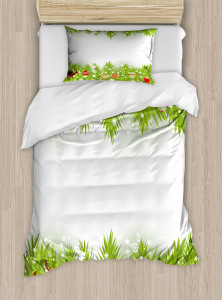 Coniferous Noel Tree Duvet Cover Set