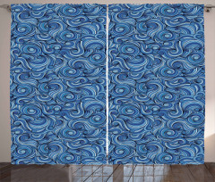 Artistic Zentangle Exotic Curtain