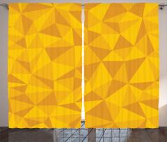 Abstract Mosaic Design Curtain