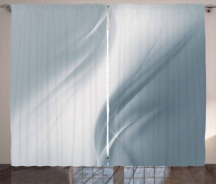 Monochromatic Abstract Curtain
