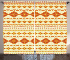 Ethnic Mexican Boho Curtain