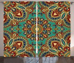 Arabesque Oriental Curtain
