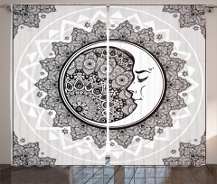 Asian Bohemian Pattern Curtain