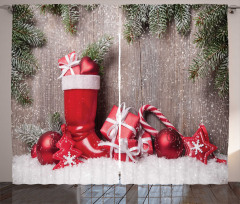 Wooden Gift Boxes Curtain