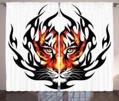 Jungle Tigers Prince Curtain