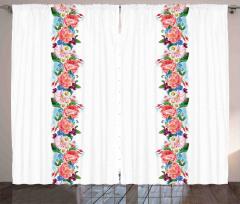 Daisy Wild Nature Garden Curtain