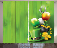 Shamrock Charm Curtain
