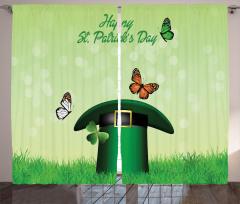 Irish Hat Charm Curtain